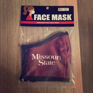 ✅ BRAND NEW SEALED Missouri State Bears Face Mask